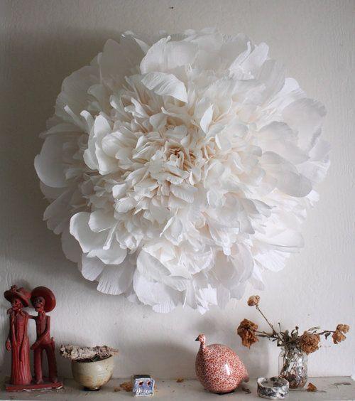 Huge Crepe Paper Flower By The American Tiffanie American