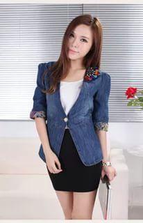 пиджак женский из джинсовой ткани: 21 тыс изображений найдено в Яндекс.Картинках