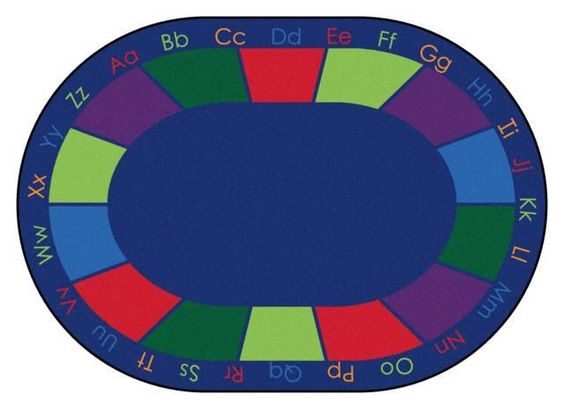 """CK-8616 Colorful Places Seating Rug 8'3"""""""" x 11'8"""""""" Oval"""