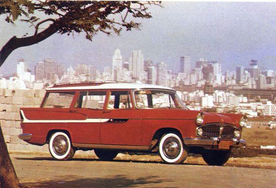 1963 Simca Jangada SW - Brazil