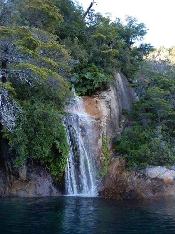 Brazo Tristeza. Lago Nahuel Huapi. Bariloche.