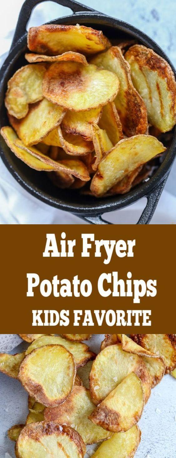 Air Fryer Potato Chips Recipe - Momsdish