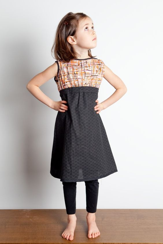 Redfish Kids Clothing Online Store - The Partini Dress in Grey $72 ...