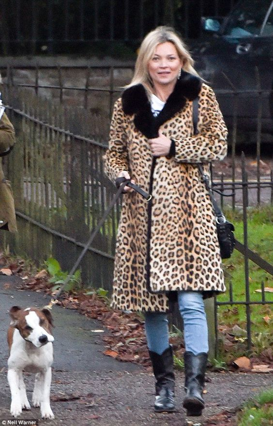 Kate Moss takes Archie out for a walk | Kate Moss Universe