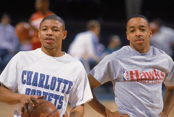 Muggsy Bogues & Spud Webb. They're small but they can ball.