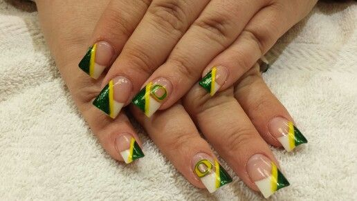 Oregon duck nails! Go ducks!