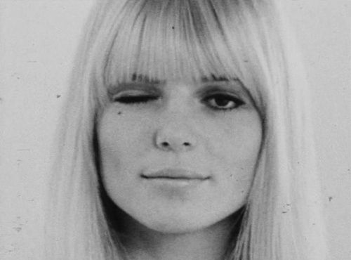 Imagen de black and white, sixties, and France Gall:
