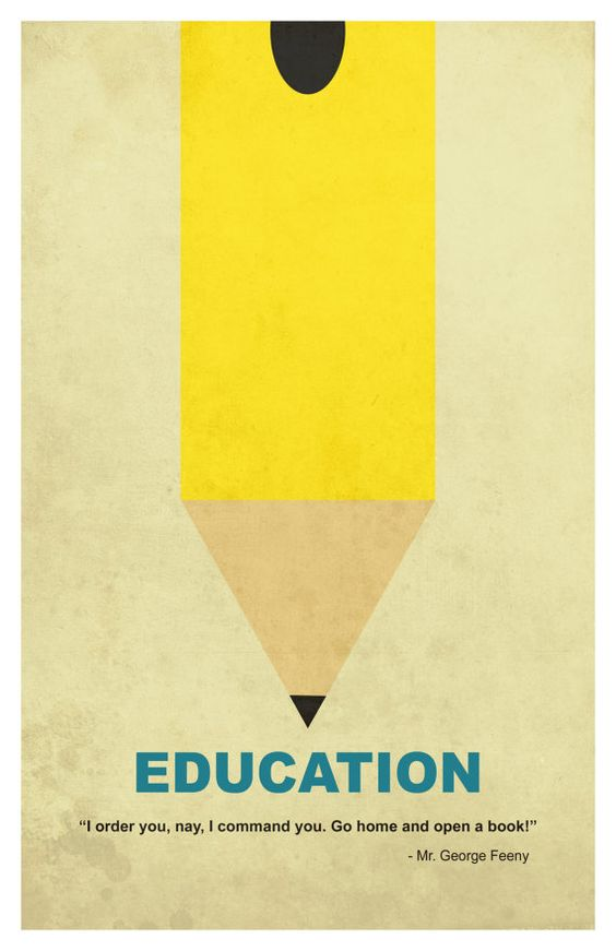 Minimalist Classroom : Poster prints education and minimalism on pinterest