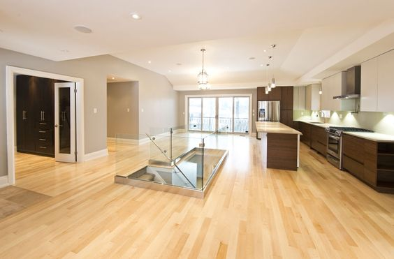 Best Natural Maple Floor Gray Wall Google Search Ideas For 640 x 480