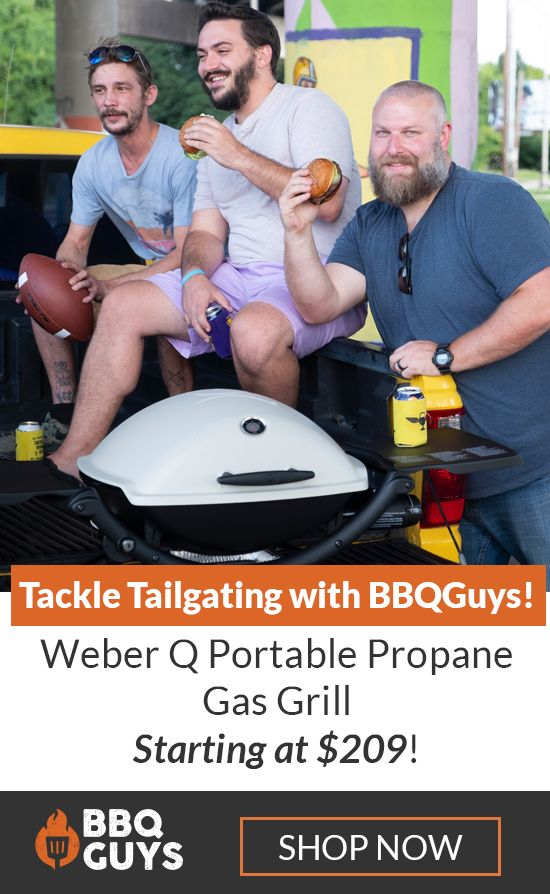 Ready Set Grill On The Go The Weber Q 1200 Portable Gas Bbq Grill Offers 189 Square Inches Of Cooking Space To Portable Gas Bbq Tailgate Grilling Gas Grill