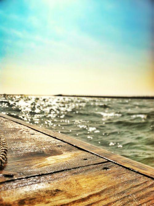 summer sun on the water