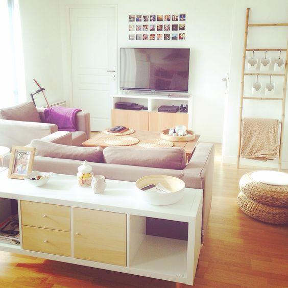 Un véritable espace de détente et de cocooning entre plaid et bougie, on aime du détendre !