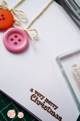 Card di natale semplice semplice