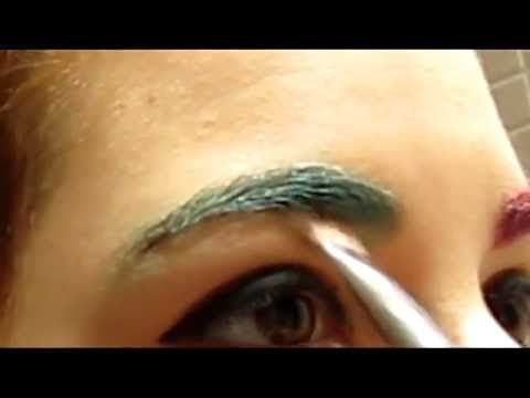 Como pintarse las cejas [ cosplay] - YouTube