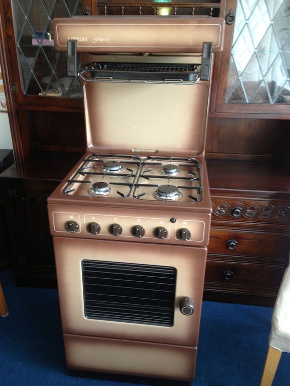 Gas Cooker Eye Level Grill Leisure Excellent Clean