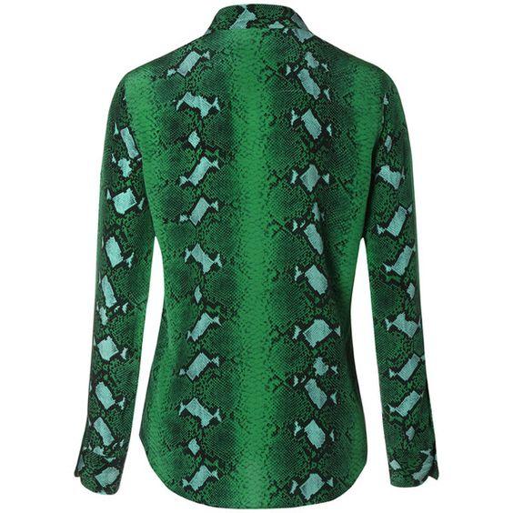 Equipment Brett Shirt - Emerald Multi ($435) ❤ liked on Polyvore