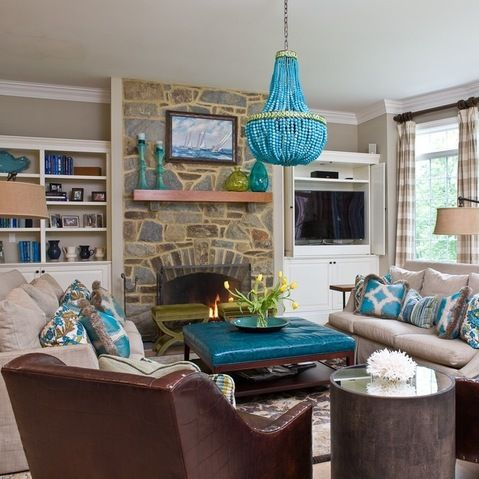 Turquoise Lighting Design Ideas, Pictures, Remodel, and Decor - page 8