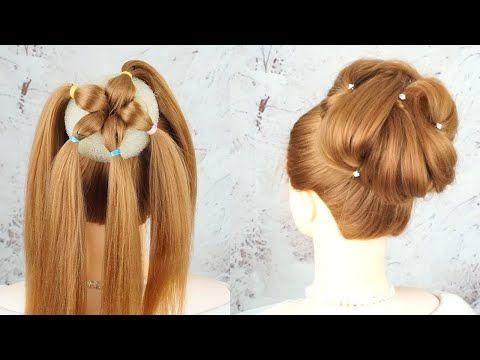 Hermosos Peinados Paso A Paso Peinados De Trenza Faciles Wedding High Bun Hairstyle Tutorial Youtube Sac Dugun Saci Daginik Topuzlar