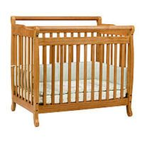 DaVinci Emily Mini Convertible Crib - Oak