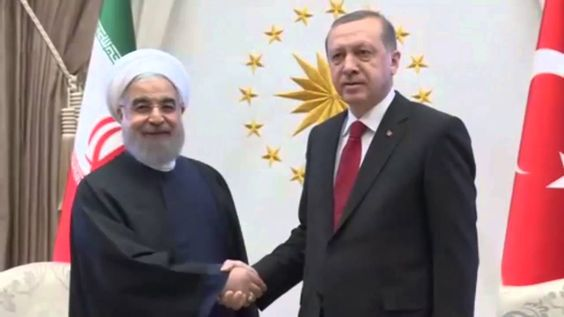 President Erdogan Hold Talks with Iranian President  Rouhani