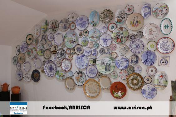 Pratos decorativos personalizados