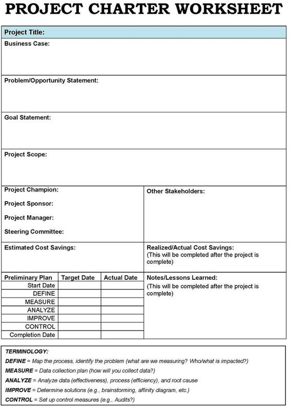 project charter templates - Google Search http\/\/itz-my - affinity diagram template