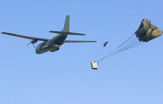 Transall C-160: Einsatz der Deutschen Luftwaffe