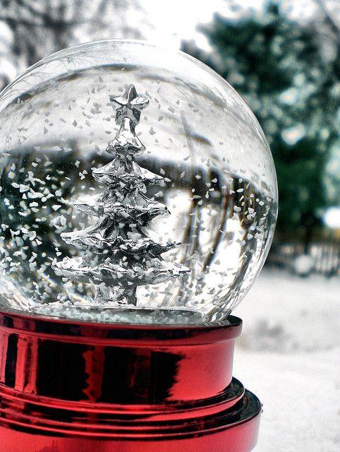 Snow globe #2 by Lindsey Mae, via Flickr