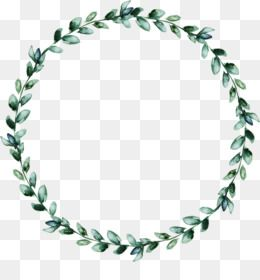 Free Download Wreath Leaf Watercolor Wreath Of Green Leaves Png 3020 3047 And 6 12 Mb Karangan Bunga Natal Clip Art Undangan Perkawinan