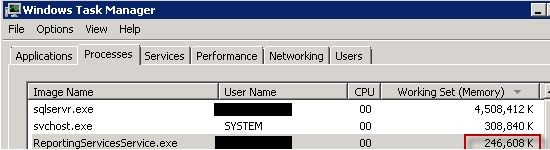 Prevent SQL Server Reporting Services Slow Startup