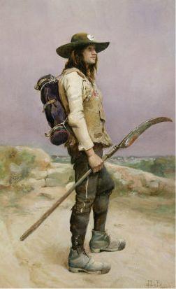 Le Vendéen, peinture de Julien Le Blant