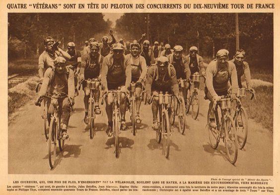 Tour de france 1925 6 tappa 28 giugno les sables d for Miroir des princes