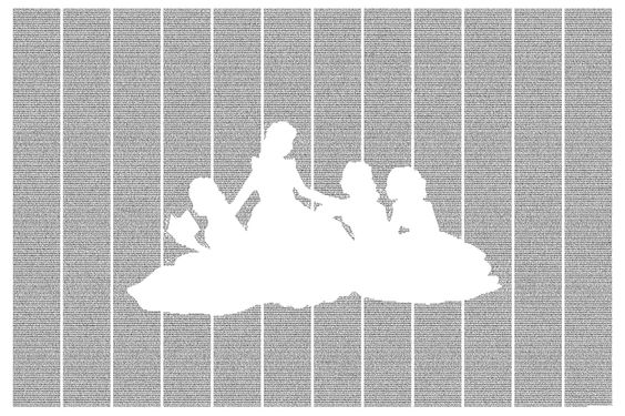 Little Women - made entirely out of text from the novel | Postertext  OMG I AM IN LOVE!! books and art together-my dream come true!