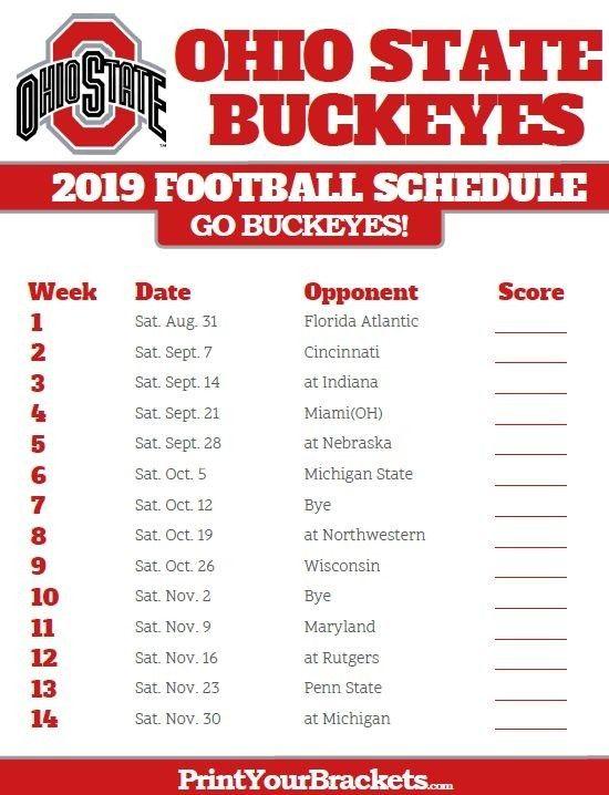 Pin By Dawn Karnes On Osu Buckeyes Ohio State Buckeyes Football Buckeye Football Schedule Ohio State Football Schedule