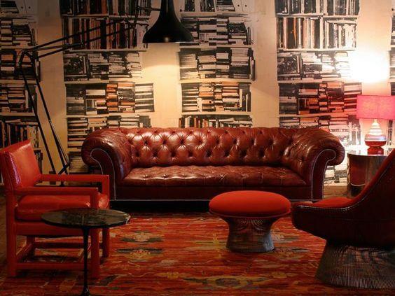 Soho House Interiors #SohoHouse