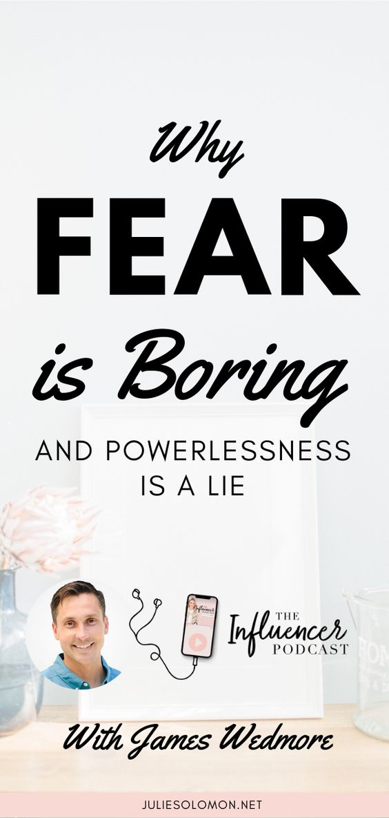 Find out the one thing that matters more to your business than any strategy, sales funnel, or marketing campaign. Why Fear is Boring and Powerlessness is a lie. Episode 098 of The Influencer Podcast with James Wedmore. #JulieSolomon #TheInfluencerPodcast #Salesfunnel #marketing #MarketingPodcast #strategy #InfluencerMarketing