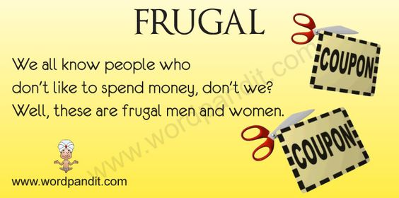how to become frugal with money