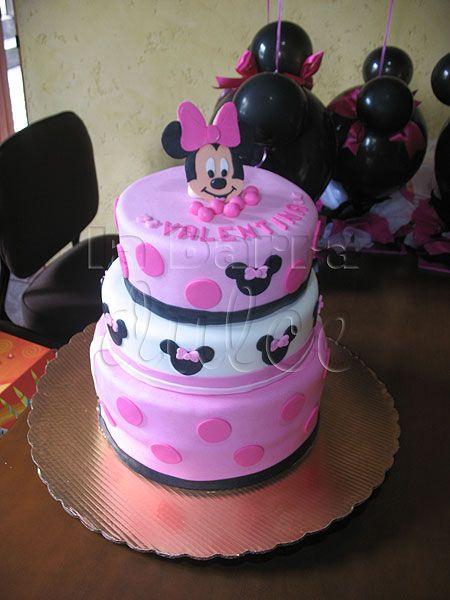 Cake Design Guatemala : Minnie Mouse cake pastel Mimi Disney tarta torta pink ...