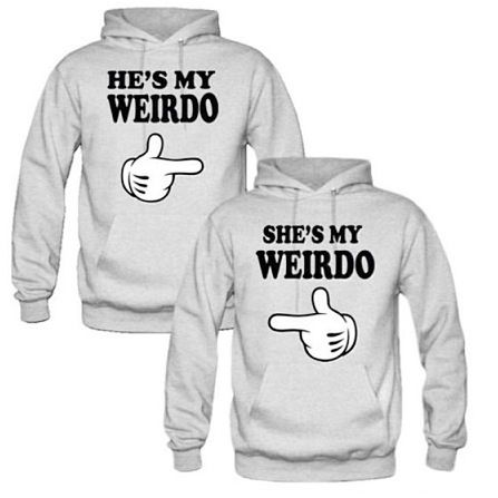 Matching hoodies for him&her :)