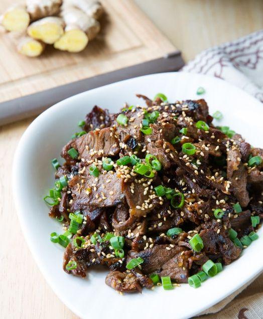Bulgogi Korean Bbq Recipe Oriental Dishes Recipes Beef Adobo Recipe