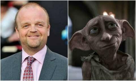Happy Birthday Toby Jones Who Voiced Dobby In The Harry Potter Films Harry Potter Films Harry Potter Film