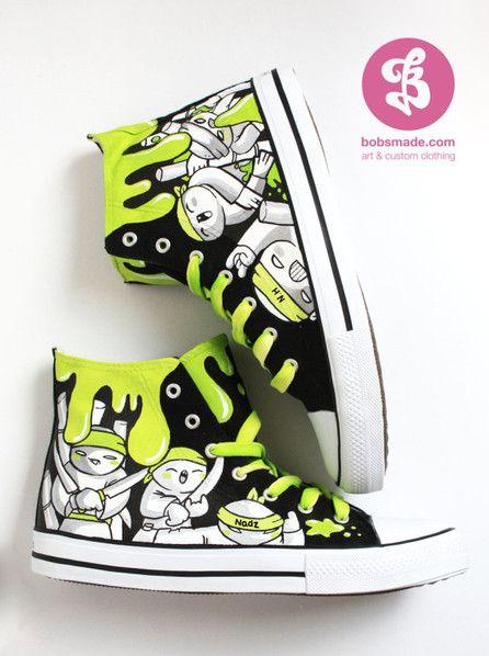 custom-chuckz - art & custom clothing - Bobs Made