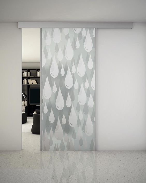 51 Patterned Glass Doors To Make Your Home Look Outstanding interiors homedecor interiordesign homedecortips