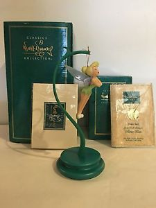 Disney WDCC Tinker Bell Ornament with Stand New with Certificate of Authenticity | eBay