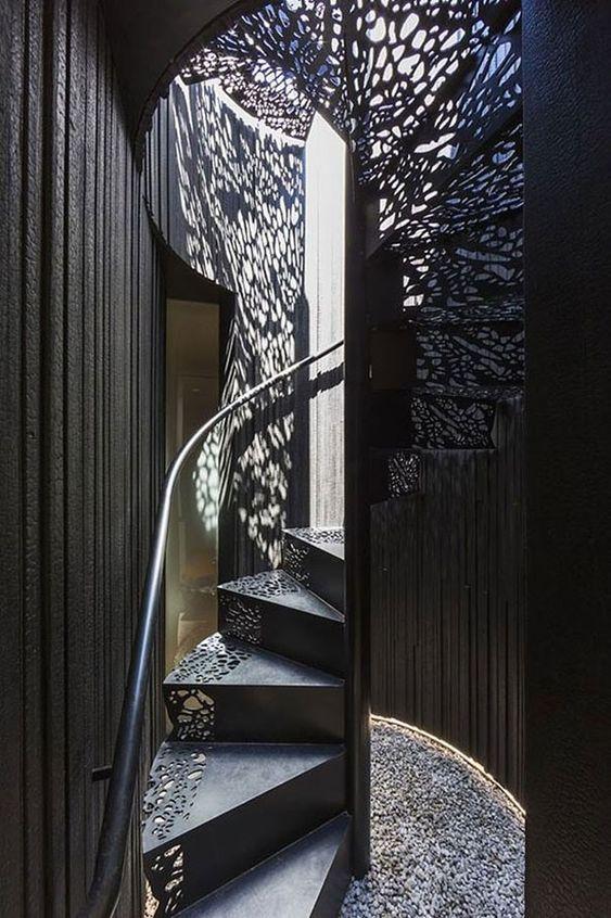 Resultado de imagem para projeto de Dust escadas