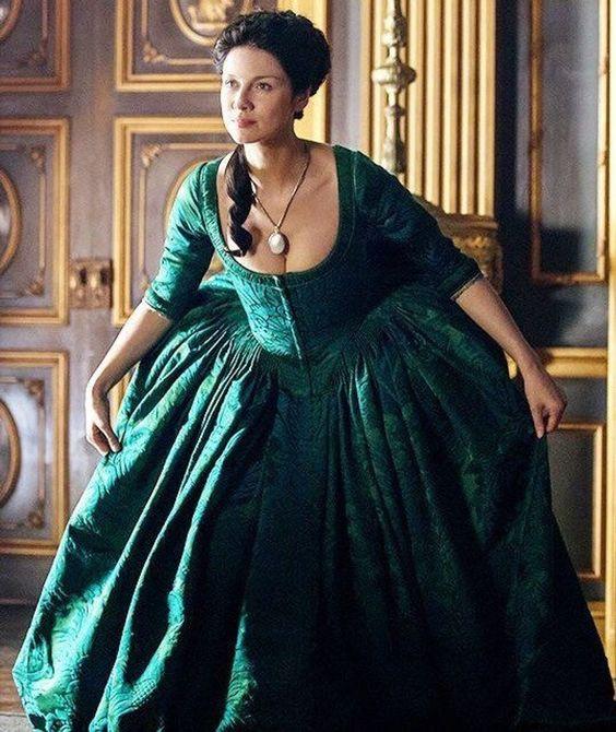 Georgian 18th century petticoat & sack back gown watteau | Etsy
