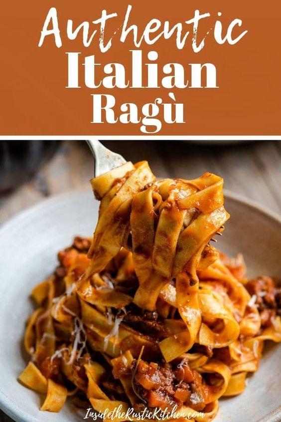 Authentic Italian Beef Ragu