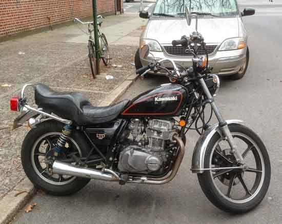 Kawasaki Ltd 440 Cafe Racer – Idea di immagine del motociclo