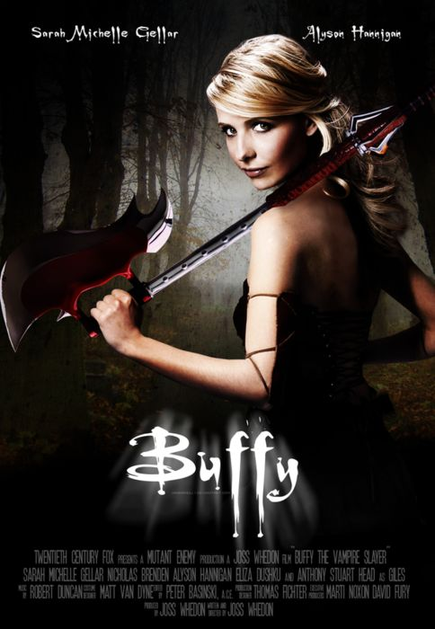 I love Buffy. She is such a role model to me. She always does the things that need to get done to save her town and the world.