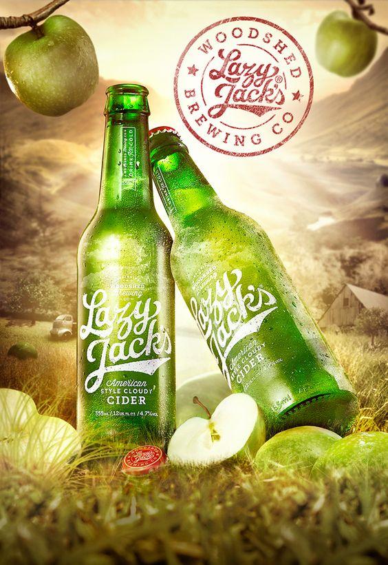 Lazy Jacks Cider | Concept idea on Behance